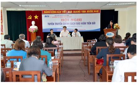 Các chi nhánh Bảo hiểm tiền gửi Việt Nam tổ chức tuyên truyền chính sách bảo hiểm tiền gửi