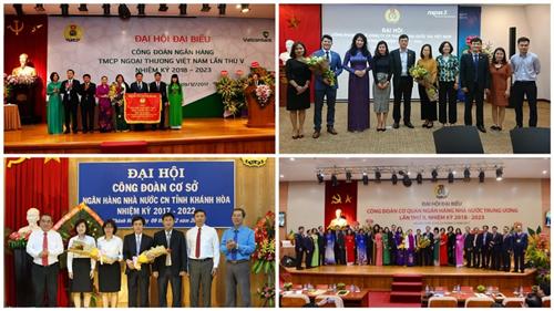 Công đoàn Ngân hàng Việt Nam 2017: 10 hoạt động nổi bật