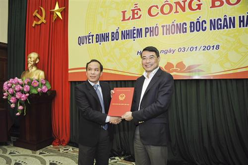 Công bố Quyết định bổ nhiệm Phó Thống đốc Ngân hàng Nhà nước Việt Nam