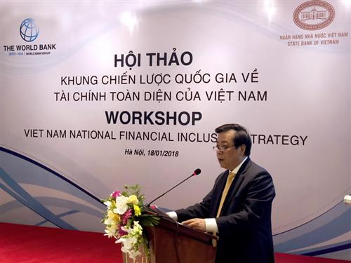 Hội thảo Khung chiến lược Quốc gia về Tài chính toàn diện tại Việt Nam