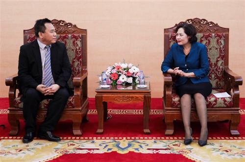 Phó Thống đốc Nguyễn Thị Hồng tiếp Tập đoàn giáo dục Felix Việt Nam và Tổ chức giáo dục tài chính MoneyTree Singapore