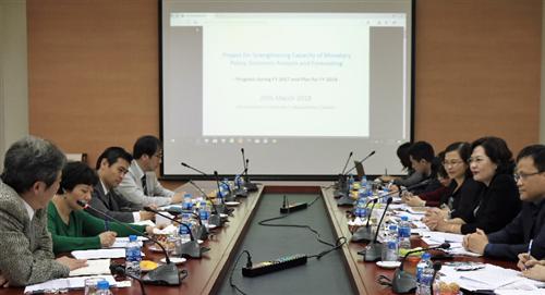 """Họp điều phối chung lần thứ nhất trong khuôn khổ Dự án """"Tăng cường năng lực cho NHNN trong lĩnh vực CSTT, phân tích và dự báo thống kê"""""""