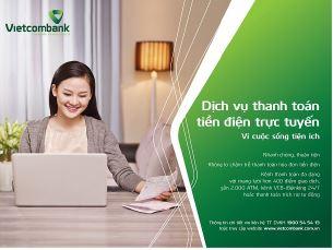 Vietcombank không ngừng hoàn thiện, mở rộng các dịch vụ tiện ích trên các kênh ngân hàng điện tử