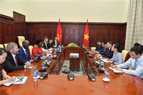 Thống đốc NHNN tiếp Phó Chủ tịch World Bank phụ trách khu vực Đông Á - Thái Bình Dương