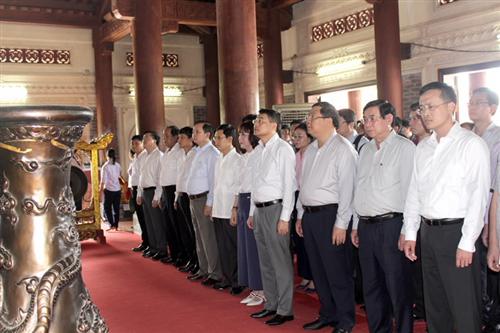 Ngành Ngân hàng tri ân các Anh hùng Liệt sỹ nhân dịp Kỷ niệm ngày Thương binh Liệt sỹ (27/7)