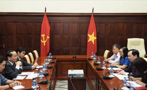 Phó Thống đốc Đào Minh Tú tiếp Trưởng đại diện Văn phòng JICA tại Việt Nam