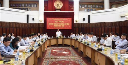 Hội nghị Ban Chấp hành lần thứ 13 (mở rộng) Đảng bộ Cơ quan Ngân hàng Trung ương nhiệm kỳ 2015 – 2020