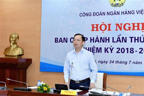 Hội nghị Ban Chấp hành Công đoàn Ngân hàng Việt Nam lần thứ 2, khóa VI, nhiệm kỳ 2018-2023