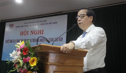 Trung tâm thông tin tín dụng quốc gia Việt Nam triển khai nhiệm vụ 6 tháng cuối năm 2018