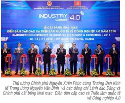 Vietcombank đồng hành cùng diễn đàn cấp cao và triển lãm quốc tế về công nghiệp 4.0