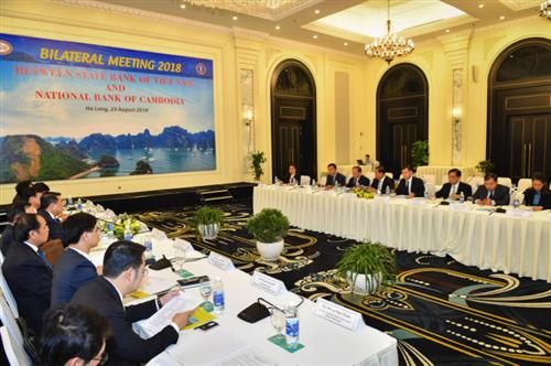 Hội nghị Song phương lần thứ 4 giữa NHNN Việt Nam và NHQG Campuchia