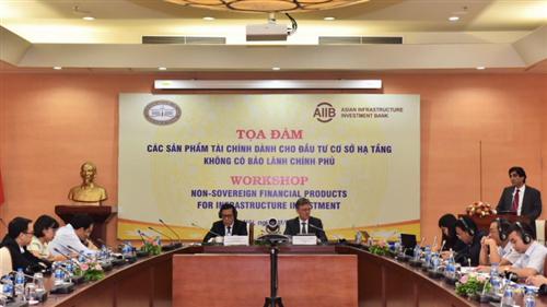 Tọa đàm Các sản phẩm tài chính của AIIB dành cho đầu tư cơ sở hạ tầng không có bảo lãnh Chính phủ