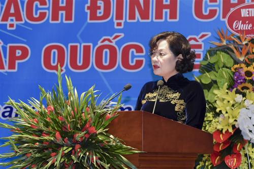 """Hội thảo """"Vấn đề giới trong hoạch định chính sách và hội nhập quốc tế"""""""