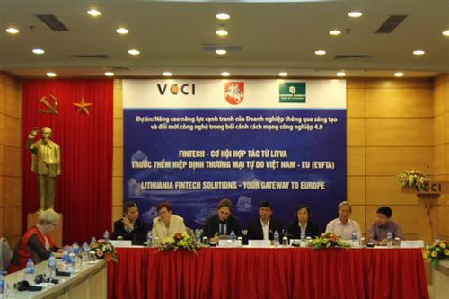 Hội thảo Fintech – Cơ hội hợp tác từ Litva