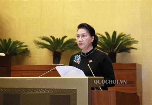 Chủ tịch Quốc hội yêu cầu Ngân hàng Nhà nước tiếp tục đẩy mạnh triển khai nhiều nhiệm vụ quan trọng