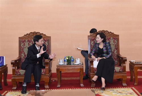 Phó Thống đốc NHNN Nguyễn Thị Hồng tiếp đoàn NHTW Hàn Quốc
