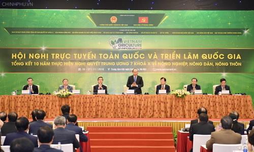 Hội nghị tổng kết 10 năm thực hiện Nghị quyết 26 của Đảng về Nông nghiệp, Nông thôn, Nông dân