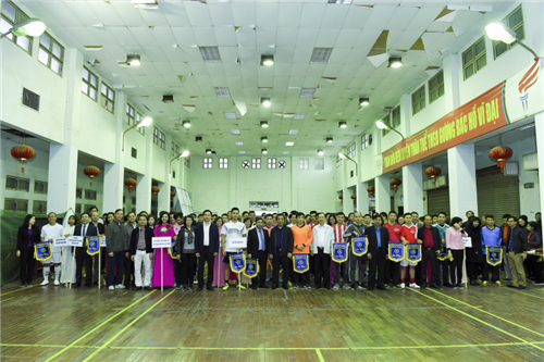 Công đoàn Cơ quan Ngân hàng NHTW - Khai mạc giải bóng đá lần thứ IX