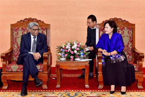 Phó Thống đốc Nguyễn Thị Hồng tiếp Phó Chủ tịch kiêm Giám đốc Điều hành MIGA