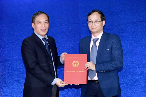 Công bố Quyết định bổ nhiệm cán bộ lãnh đạo Vụ Pháp chế