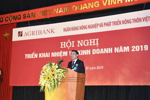 Thống đốc NHNN: Agribank tập trung, phát huy vai trò phục vụ nông nghiệp nông thôn