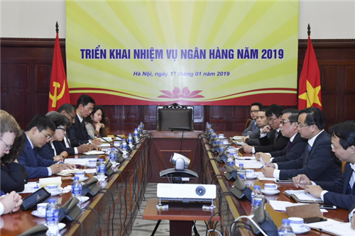 Phó Thống đốc NHNN Nguyễn Kim Anh tiếp WB