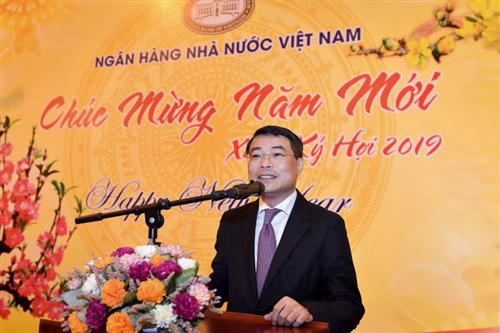 Thống đốc NHNN gặp mặt cán bộ, công chức, viên chức, người lao động ngành Ngân hàng đầu Xuân Kỷ Hợi