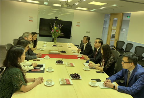 Phó Thống đốc Nguyễn Kim Anh đến thăm và làm việc với IFC