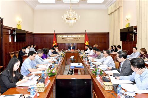 Thống đốc NHNN Lê Minh Hưng chủ trì cuộc họp Ban chỉ đạo phòng, chống rửa tiền