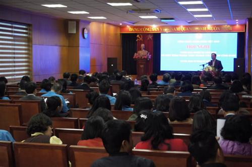 Hội nghị Triển khai nhiệm vụ năm 2019 – Phát động phong trào thi đua trong hệ thống Công đoàn Ngân hàng Việt Nam