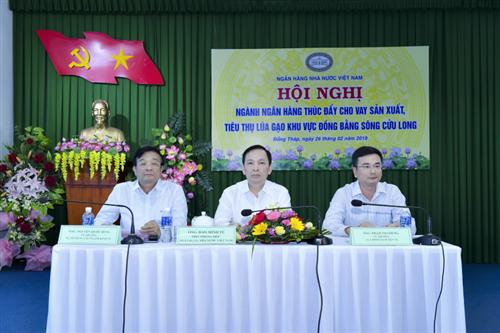 Triển khai nhiều giải pháp thiết thực hỗ trợ sản xuất, tiêu thụ lúa gạo Đồng bằng Sông Cửu Long