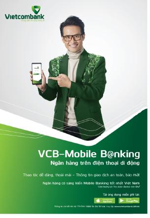 VCB-Mobile B@nking:  Công cụ đắc lực giúp nâng cao chất lượng cuộc sống