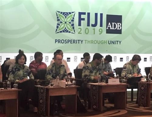 Phó Thống đốc Nguyễn Thị Hồng tham dự Hội nghị thường niên ADB lần thứ 52 tại thành phố Nadi, Fiji