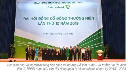 Vietcombank tổ chức thành công đại hội đồng cổ đông thường niên lần thứ 12, năm 2019