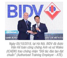 BIDV trở thành đối tác đào tạo đạt chuẩn của ICAEW