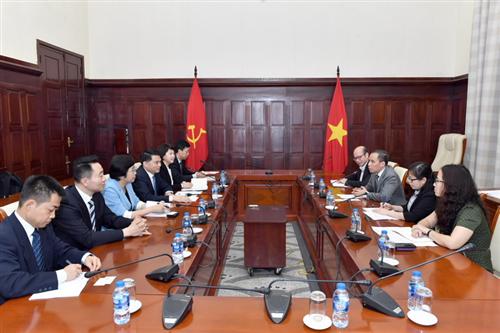 Phó Thống đốc Đoàn Thái Sơn tiếp Ngân hàng Nông nghiệp Trung Quốc