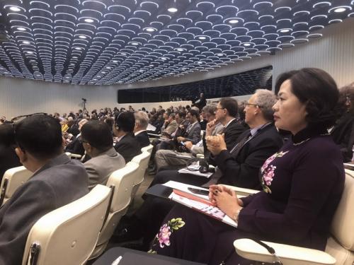 Đoàn NHNN tham dự Hội nghị thường niên Ngân hàng Thanh toán Quốc tế năm 2019