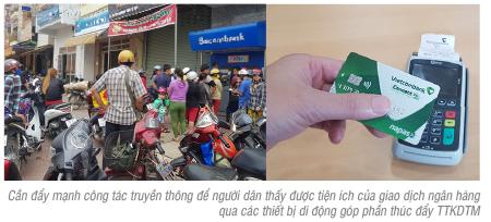 Thúc đẩy thanh toán không dùng tiền mặt tại khu vực nông thôn, vùng sâu, vùng xa
