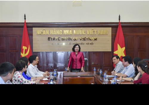 Công bố Quyết định bổ nhiệm Vụ trưởng và Phó Vụ trưởng Vụ Truyền thông