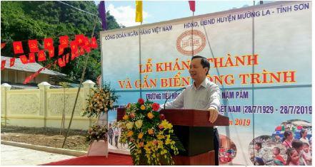 Công đoàn Ngân hàng Việt Nam: nhiều hoạt động hướng tới học sinh vùng cao nhân ngày khai giảng