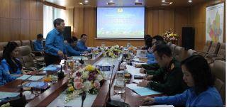 Khảo sát công tác thi đua khen thưởng tại Công đoàn Ngân hàng Việt Nam