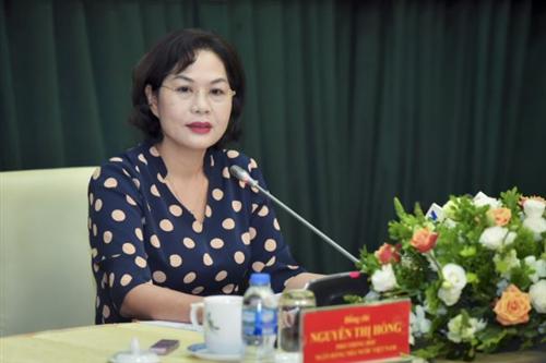 Phó Thống đốc Nguyễn Thị Hồng chủ trì họp Ban chỉ đạo hợp tác ngân hàng ASEAN 2020