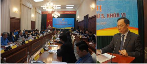 Hội nghị Ban chấp hành Công đoàn NGÂN HÀNG VIỆT NAM lần thứ 5, khóa VI