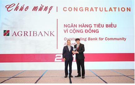 Agribank được vinh danh 2 giải thưởng  Ngân hàng Việt Nam tiêu biểu 2019