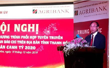 Agribank trên địa bàn tỉnh Thanh Hóa thực hiện tốt công tác phối hợp tuyên truyền phục vụ  phát triển nông nghiệp, nông thôn