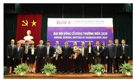BIDV tổ chức Đại hội đồng cổ đông thường niên năm 2020