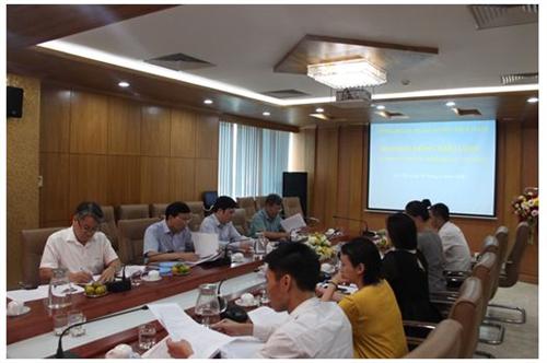 Họp Hội đồng khoa học xét duyệt đề tài cấp cơ sở của Cơ quan Công đoàn Ngân hàng Việt Nam