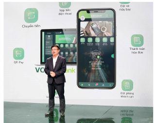Vietcombank ra mắt dịch vụ ngân hàng số VCB Digital