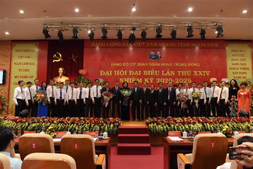 Đại hội Đại biểu Đảng bộ Cơ quan NHTW lần thứ XXIV, nhiệm kỳ 2020 - 2025 thành công tốt đẹp