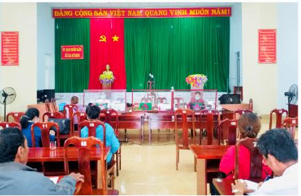 Ngân hàng Chính sách xã hội huyện Cư MGar với việc thực hiện nhiệm vụ kép